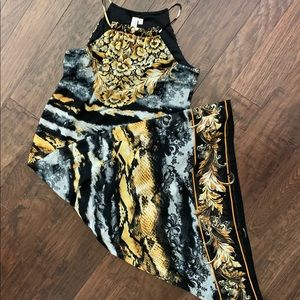 Multi color Maxi dress, Soho apparel LTD.